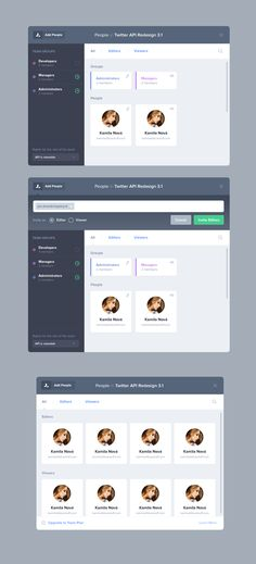 People Modal by Jan Dvořák for Apiary #tablet #ui #design http://www.pinterest.com/alextcsung/