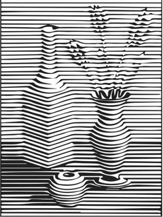 😍WOW😍 I am SO amazed by version of my Op Art lesson! My fifths are already…graders are blowing me away with their opart projects! This is by far the best (ie most visually appealing and successfu Illusion Drawings, Illusion Art, Doodle Art Drawing, Art Drawings, Cute Doodle Art, Flower Drawings, Zen Doodle, Stylo Art, Op Art Lessons