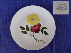 Chloe LUNCHEON PLATE Blue Ridge Southern Pottery  have 100's of Blue Ridge AS-IS #BlueRidgeSouthernPottery