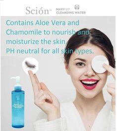 Scion makeup cleansing water 250ml NU SKIN #Nuskin Hair Dye Colors, Hair Colour, Face Lightening, Cleansing Water, Pure Soap, 5 Box, Beautiful Hair Color, Nu Skin, Siem Reap