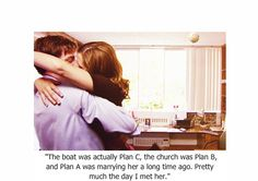 My favorite quote from The Office, and one of my favorite love stories.