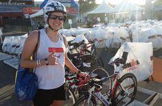 Dama de Ferro: Milena Klein, triatleta e diabética A triatleta pronta para mais um Ironman: Milena pedala e corre com a bomba de insulina