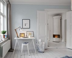 papier-peint-graphique-bleu-kube_emeraude-Zoe-Crait