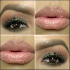 Love this soft makeup look