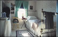 Ah, time to visit the Anne of Green Gables house on Prince Edward Island again...last time we had to fight our way through all the Japanese tourists!  This photo shows Anne's upstairs bedroom.    #CDNGetaway