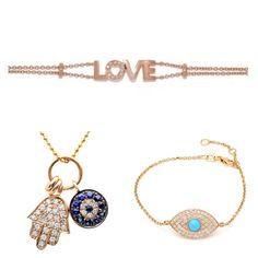 Currently a major jewelry trend is inspirational and symbolic jewelry. It has been seen on top bloggers and street style across America. Here are some of our favorite from CB Luxe.  www.cbluxe.com
