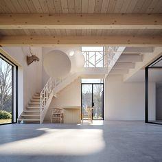Black Timber House on Behance