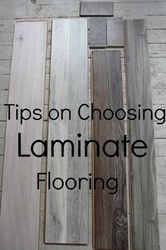 What to Look For When Choosing Laminate Flooring - lots of info you should know when shopping for quality flooring - via Keep it Beautiful