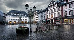 This cool photo is from the streets of Koblenz in Germany. My delegation will definitely be walking these streets.