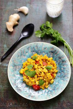 Caviar de courgettes à l'indienne