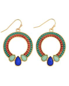 Janice Drop Earrings from The Shopping Bag