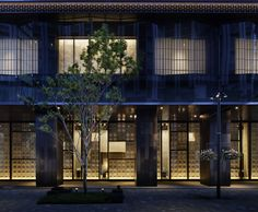 New inn style: Tokyo's first luxury The exterior of Hoshinoya Tokyo is a mix of modern architecture and traditional motifs designed by Azuma Architect & Associates. | © HOSHINO RESORTS INC.