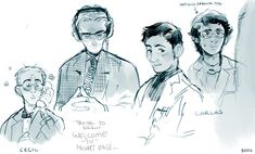 Welcome to Night Vale doodles by Barukurii on deviantART