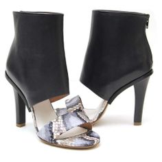 Just in! Margiela women's python sandals, Available in our Boston Tannery location!