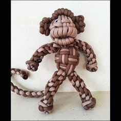Paracord Monkey - No monkey business going on here with our lovable monkey. He is so adorable and would make a wonderful friend.