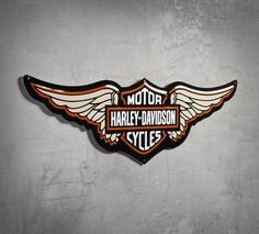 RETRO HARLEY DAVIDSON GENUINE LOGO MOTO stockage Tin Cookie Biscuits Box