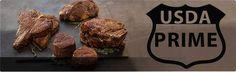 USDA prime black angus beef photo