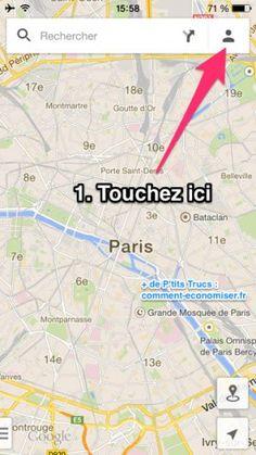Comment utiliser google maps hors connexion