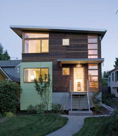remodeled home in Seattle's Phinney Ridge neighborhood; originally built in 1921