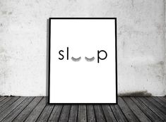 Sleep Eyelashes  Instant Download Digital Print by MODRNprints