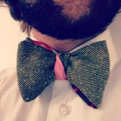 bow tie made by diderotmaison in Torino , found in London at renegadecraftfair