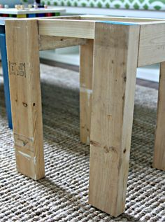 Happy Friday! I am popping in quick with part two of our sweet seating project for the playroom . I last left you with a glimpse of our s...