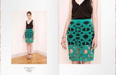 Spline Edges Print Tank Top http://cutcuutur.com/shop/spine-edges-print-tank-top-detail Net Print Skirt Green http://cutcuutur.com/shop/net-print-skirt-green-detail