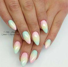 Unicorn nails!!!!