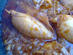 STUFFED CALAMARI Stuffed Calamari, Sea Food, Fish, Chicken, Meat, Seafood, Kai