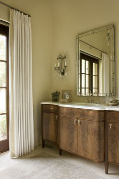 English Country - Harrison Design Harrison Design, Walnut Kitchen, Vanity Room, Room Closet, Building A New Home, Kitchen Cabinetry, Rustic Interiors, Large Windows, Beautiful Bathrooms