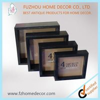 high quality wooden shadow box frame wholesale mdf picture frame photo frame - Wholesale Frames