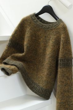 Sweater Knitting Patterns, Hand Knitting, Work Tops, Stockinette, Raglan, Textiles, Knitting Projects, Knitwear, Knit Crochet