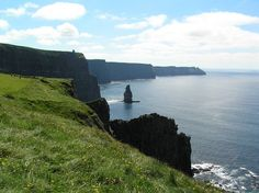 Cliffs of Mohr, Ireland--One of the most breathtaking places I've been.