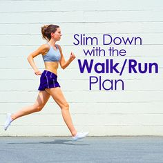 This Walk/Run Plan will increase your calorie burn and add a new mix to your typical cardio routine.  #cardio #walk #run