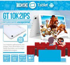 Tablet 3GO GT 10K2IPS, simplemente excepcional