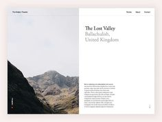 Modern Traveller – Type layout by Nguyen Le