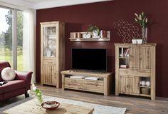 STROMBERG - Obývačková zostava, vyhotovenie: Dub wotan Design, Furniture, Medium, Home Decor, Living Room Tv, Oak Tree, House, Decoration Home, Room Decor