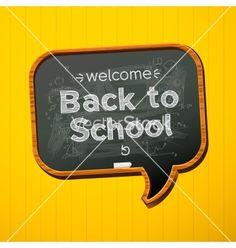 Back to school vector on VectorStock®