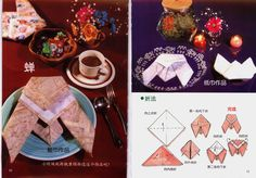 Fold a Fancy Napkin DIY: Fold Napkins - Cicada