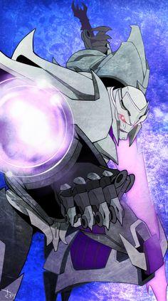 ♡ On Pinterest @ kitkatlovekesha ♡ ♡ Pin: TV Show ~ Transformers Prime ~ Megatron ♡