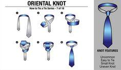 Aprenda a dar nó na sua gravata 5
