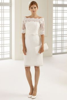 1930a93eea04 Keep it short and sweet with a chic and affordable tea length wedding dress  for your big day. Check these super chic versions of the perfect short gown.