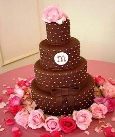 Ponqué de Fondant de Chocolate -- Fotografía: Sweet Memories Bakery