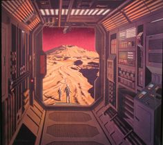 A collection of futuristic works by David  Schleinkofer