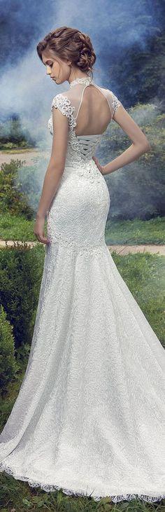 Milva 2016 Wedding Dresses Fairy Garden Collection / http://www.deerpearlflowers.com/milva-wedding-dresses/13/