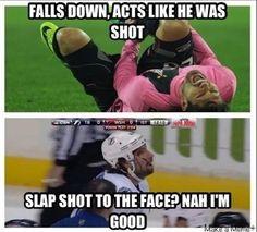 Hockey vs soccer.  So true!  Hockey is the BEST!!!