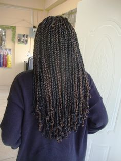 Small marley twists! Lovely!