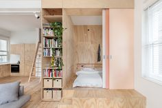 Though they might not be as sizeable as many free-standing houses, these refashioned apartments feel like home.