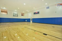 Indoor basketball court. #StoneMansion #gothamcorporategroup