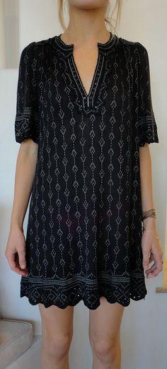 Black dress for spring/ isabel marant <3:
